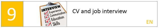 CV and job interview